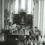 Probe in der Marienkirche in Berlin Mitte 1989