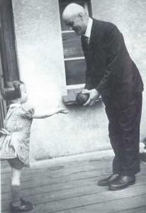 Hans Grade mit Brigitte Grothum
